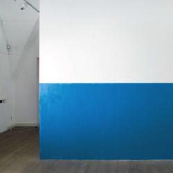 'Blauw paneel' van de kunstenaar Vovo Vorotniov, uit de catalogus van de expositie 'Ukrainian Body.'