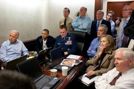 De Situation Room. Foto: Pete Souza/the White House