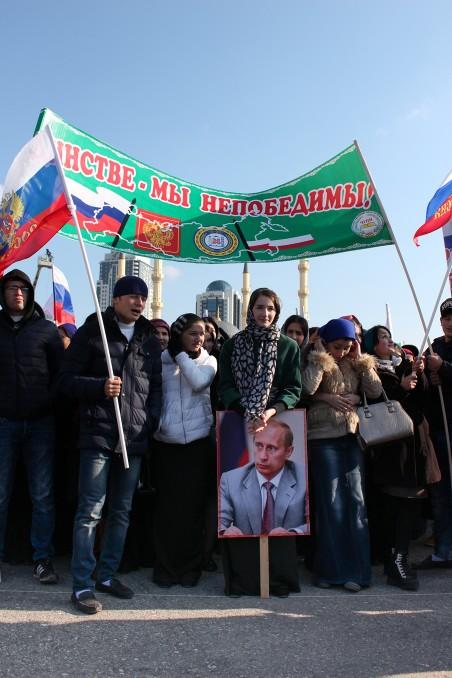 Feestdag van de Russische eenheid. Foto: Hanna Couderé