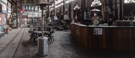 Het café van Rockerill. Foto: Rockerill