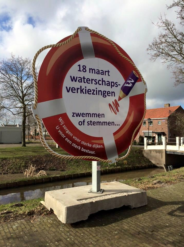 Campagneposter uit 2015