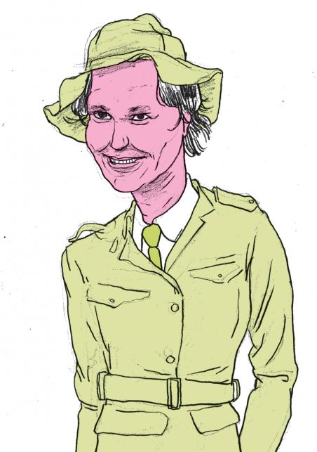 Kati Piri. Illustratie: Gijs Kast