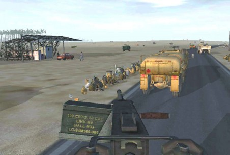 Het militaire trainingsspel 'DARWARS Ambush!'