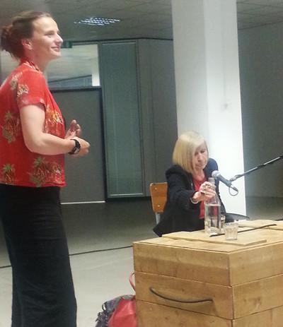 Dat zegt Chantal Mouffe, hoogleraar aan de Universiteit van Westminster, tijdens haar lezing bij op het Impulse Festival in Düsseldorf. Foto: Lucas De Man