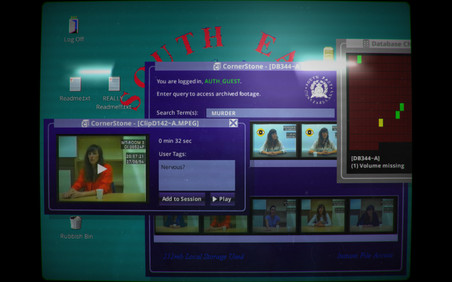 Still uit de game 'Her Story'