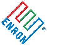 Het logo van Enron.
