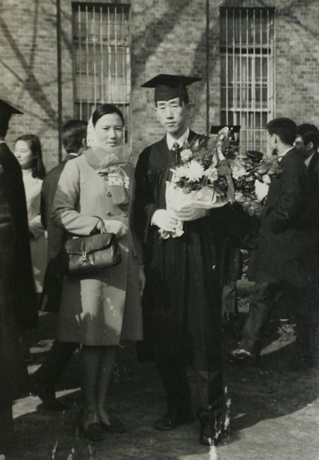 Ban Ki-moon met zijn vrouw Yoo Soon-taek tijdens zijn afstuderen aan de Universiteit van Seoul in 1970. Foto: Zuid-Koreaanse ministerie van Buitenlandse Zaken / ANP