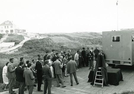 Een demonstratie van het NRP in de duinen. Foto: privéarchief