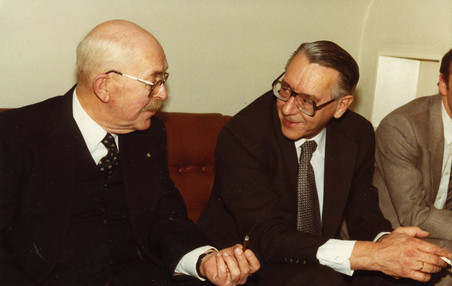 Schimmel (left) and Prins (right), private collection