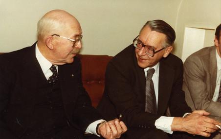 Schimmel (links) en Prins (rechts). Foto: privéarchief
