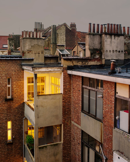 'Brussels #1' uit de serie 'Rear Window'. Foto: Jordi Huisman