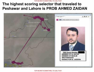 Statistische analyse wijst Al Jazeera-journalist Ahmed Zaidan aan als mogelijk doelwit.