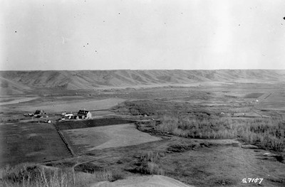 Cowesses Indian Redidential School. Marieval, Sasketchewan, 1923. Foto: Library and Archives Canada