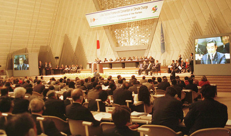 Het Kyoto-protocol, 1997. Foto: ANP