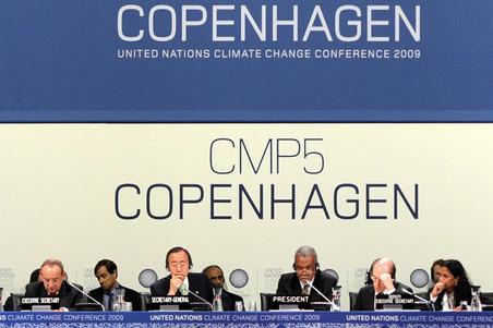Klimaattop in Kopenhagen, 2009. Foto: ANP