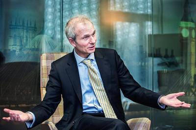 David Lidington. Foto: Dieter Telemans / Hollandse Hoogte