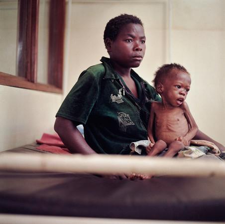 In 2005 heerste er ook hongersnood in Malawi. Foto: Jan Banning
