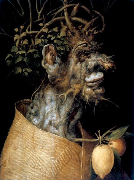 'Winter' van de Italiaanse schilder Giuseppe Arcimboldi (1526 - 1593).