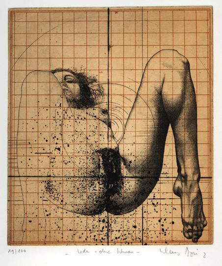 'Leda zonder zwaan' (1972) van de Duitse kunstenaar Klaus Böttger.