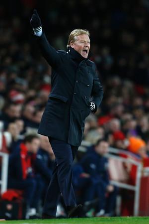 Ronald Koeman, trainer van Southampton. Foto: ANP