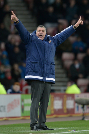 Sunderlands trainer Sam Allardyce. Foto: Oli Scarff/ANP