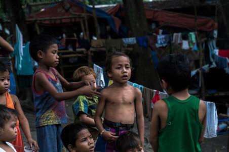 Ruim 700 gevluchte Lumad hebben een veilig heenkomen gezocht in het opvangkamp. Foto's: Andreas Stahl