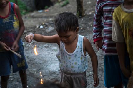 In het opvangkamp voor Lumad. Foto's: Andreas Stahl