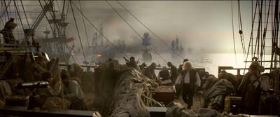 Still uit de in 2015 uitgebrachte film 'Michiel de Ruyter'