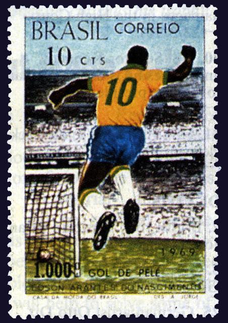 Postzegel uit 1969. Foto: AFP