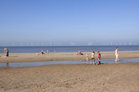 Situatieschetsen 'windpark op 3 NM (bijna 6 kilometer)'...