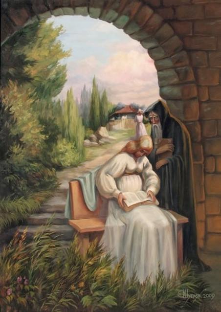 'Darwin (kunst en religie)' door Oleg Shupliak
