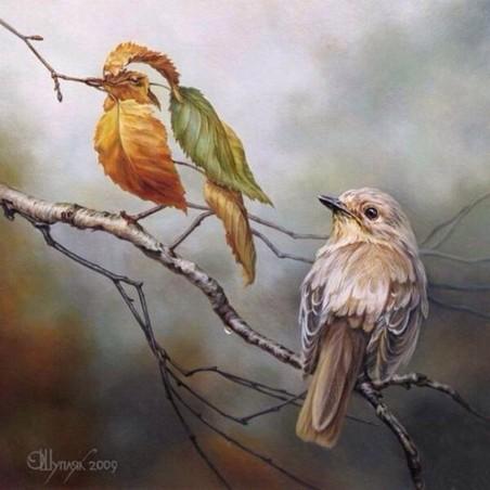 'Twee vogels (soort zoekt soort)' door Oleg Shupliak