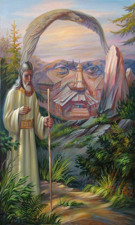 'Zakhar en de adelaar' door Oleg Shupliak