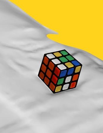 'How to solve a rubik's cube'. Beeld: Olya Oleinic