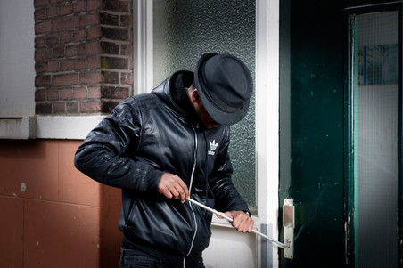 Geënsceneerde situaties. Foto's: Robin Utrecht / HH