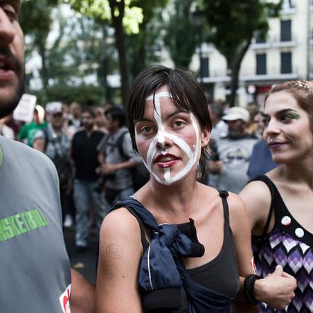 De 15 mei-beweging, juni 2011. Foto: Emanuele Cremaschi / HH