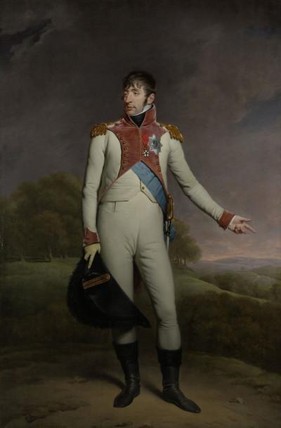 Portret van Lodewijk Napoleon, koning van Holland van 1806 tot 1810. Gemaakt door: Charles Howard Hodges / Rijksmuseum
