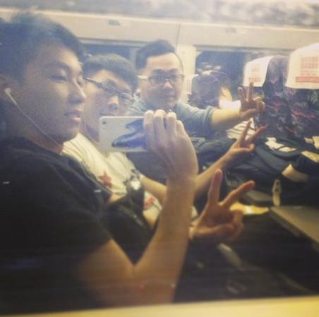 #train #shanghai. Foto: oceanenzochannel / Instagram