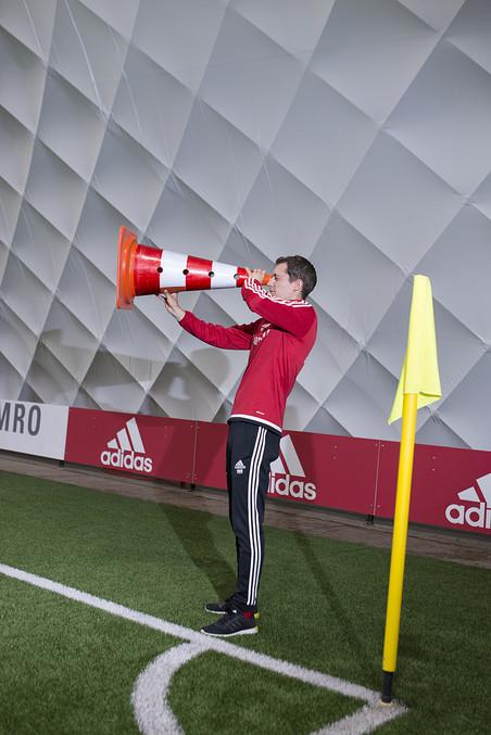 Willem Weijs, jeugdtrainer bij Ajax. Foto: Annegien van Doorn