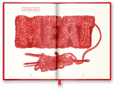 Knitted-Meat in de tentoonstelling Dream Out Loud.