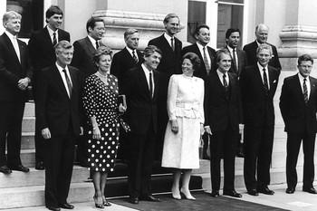 Kabinet-Lubbers/de Korte. 1986. Foto: ANP