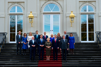 Kabinet-Rutte II, 2012. Foto: ANP