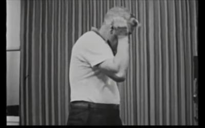 Fred Prozi in de film van Stanley Milgram.