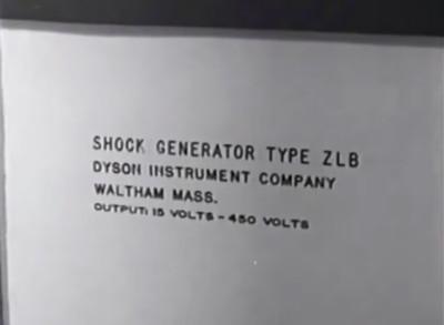 Stills uit de film van Stanley Milgram.