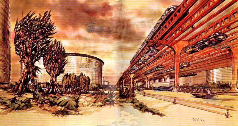 Uit het boek Buitenaardse beschaving van Stefan Denaerde uit 1969.
