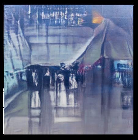 Airport Terminal, 2016. Uit de serie Synthesised ImageNet Object Class van Constant Dullaart / Upstream Gallery Amsterdam