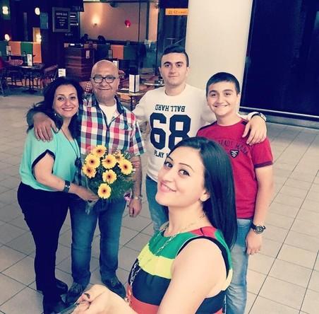 De dag dat de vader en het broertje van Hoseb in Nederland aankomen. Foto: Hoseb Assadour