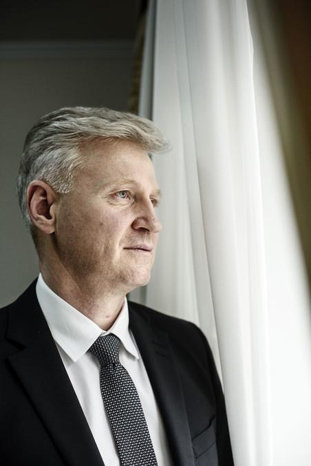 Victor Micu, president van de Moldavische Hoge Raad. Foto: Niels Ahlmann Olesen / Berlingske