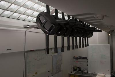 Binnenkort zullen deze drones vliegen. Foto: Daan Paans (voor De Correspondent)
