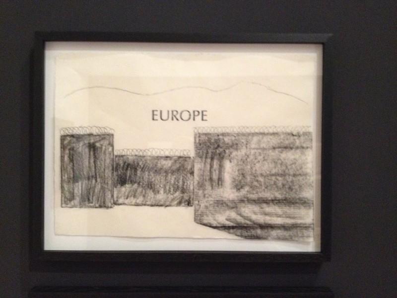 'Muur' (2016) van Philip Aguirre Y Otegui